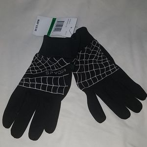 Spider gloves for women size L/XL
